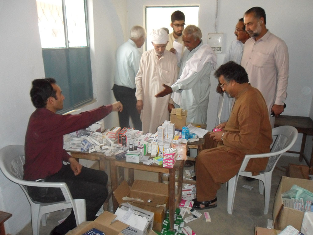 Medical Camp Ghadari, Pakistan