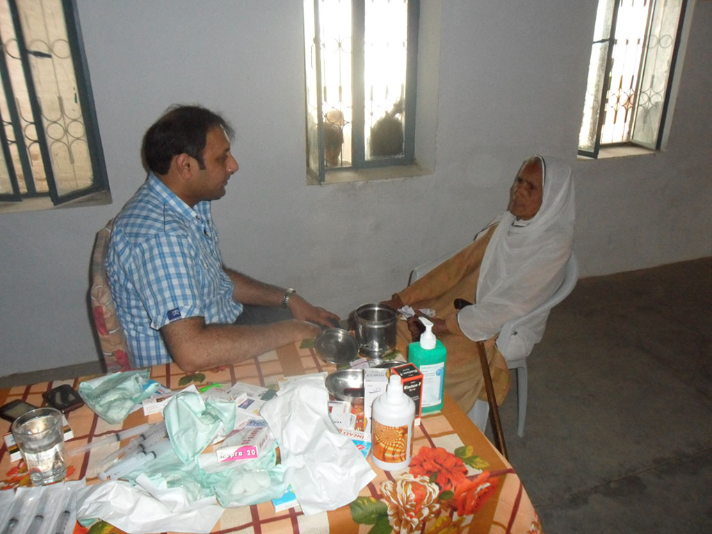 Medical Camp Ghadari