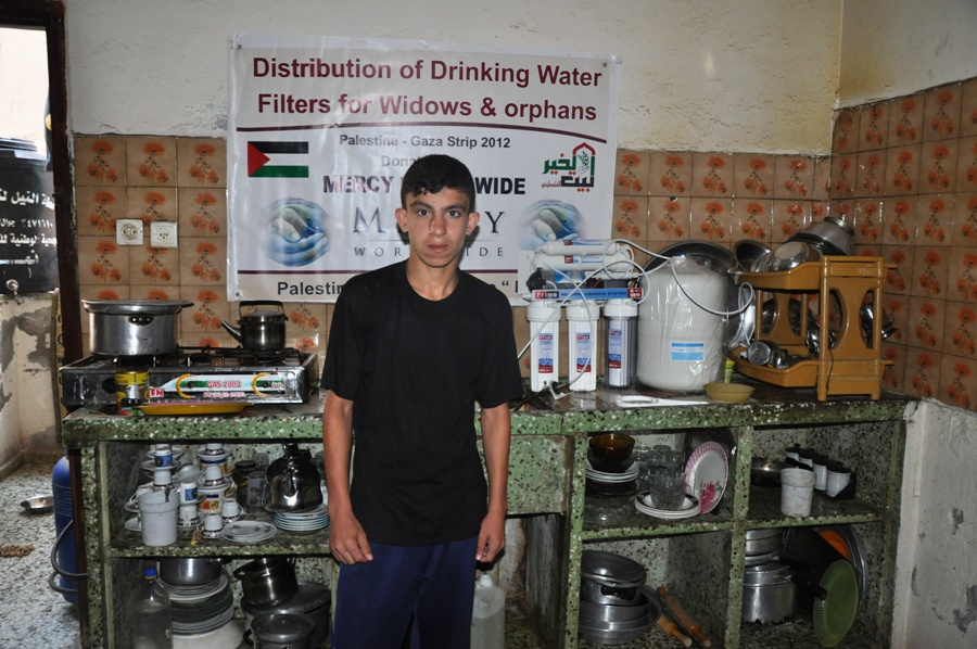 Water Filter Installations in Palestine June 2012