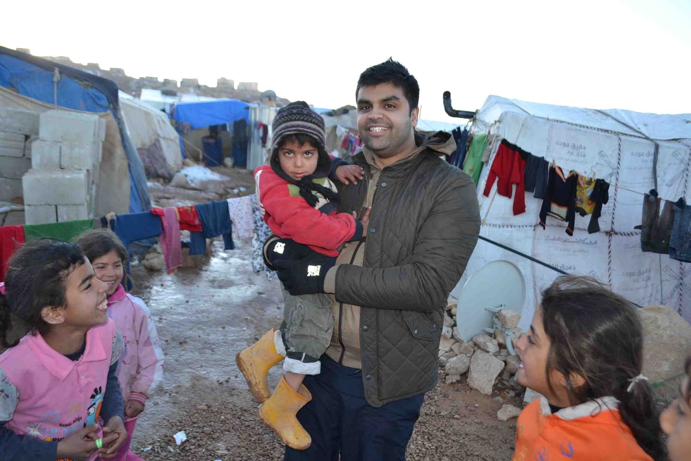 Syrian Refugee Camps Winter Relief