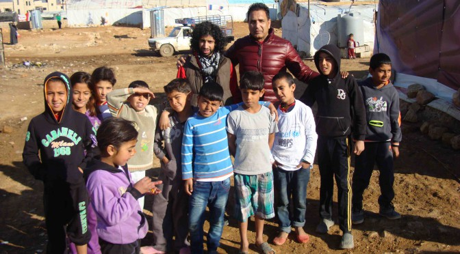 Syrian Refugee Camps, Winter Fuel Dec 2013