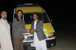 Ambulance in Quetta