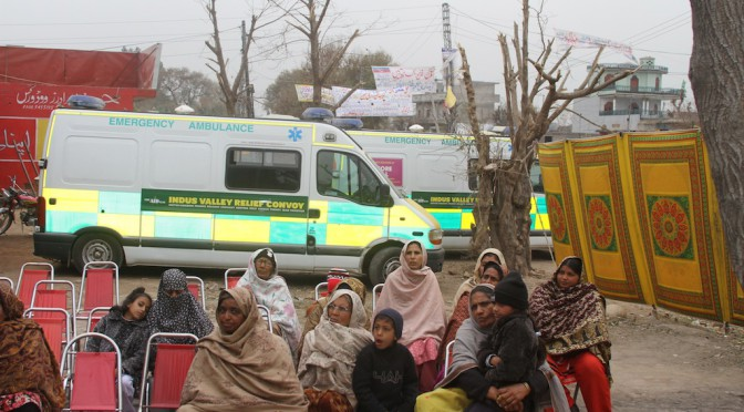 Medical Camp – Dina, Pakistan