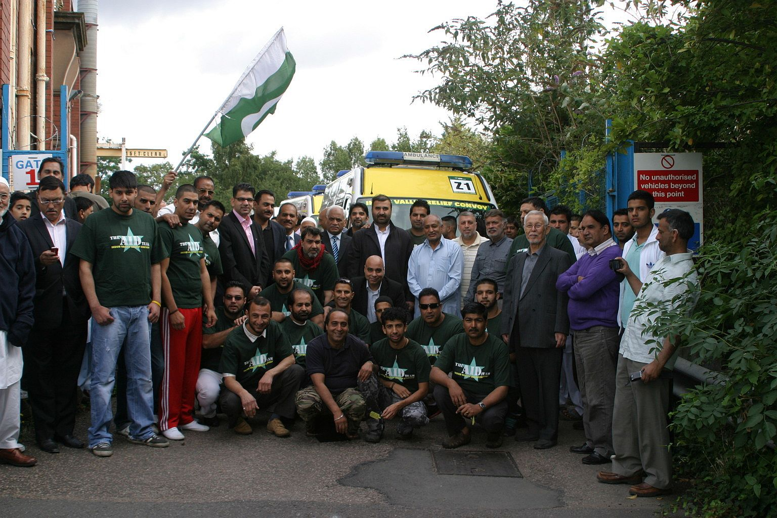 MW Trust Aid Convoy from UK to PK