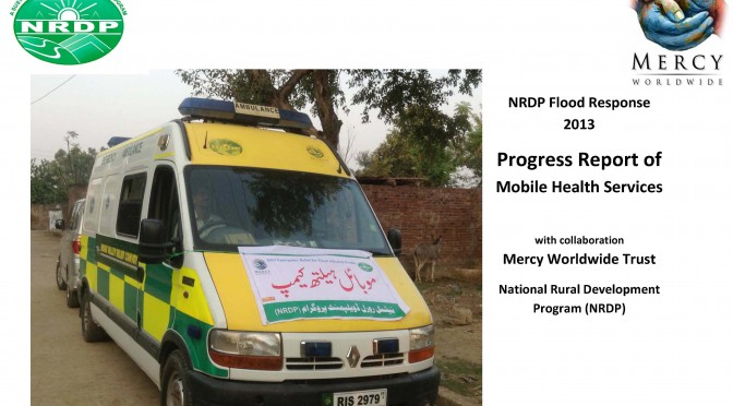 Emergency Relief and Medical Camps in District Narowal Aug – Oct 2013
