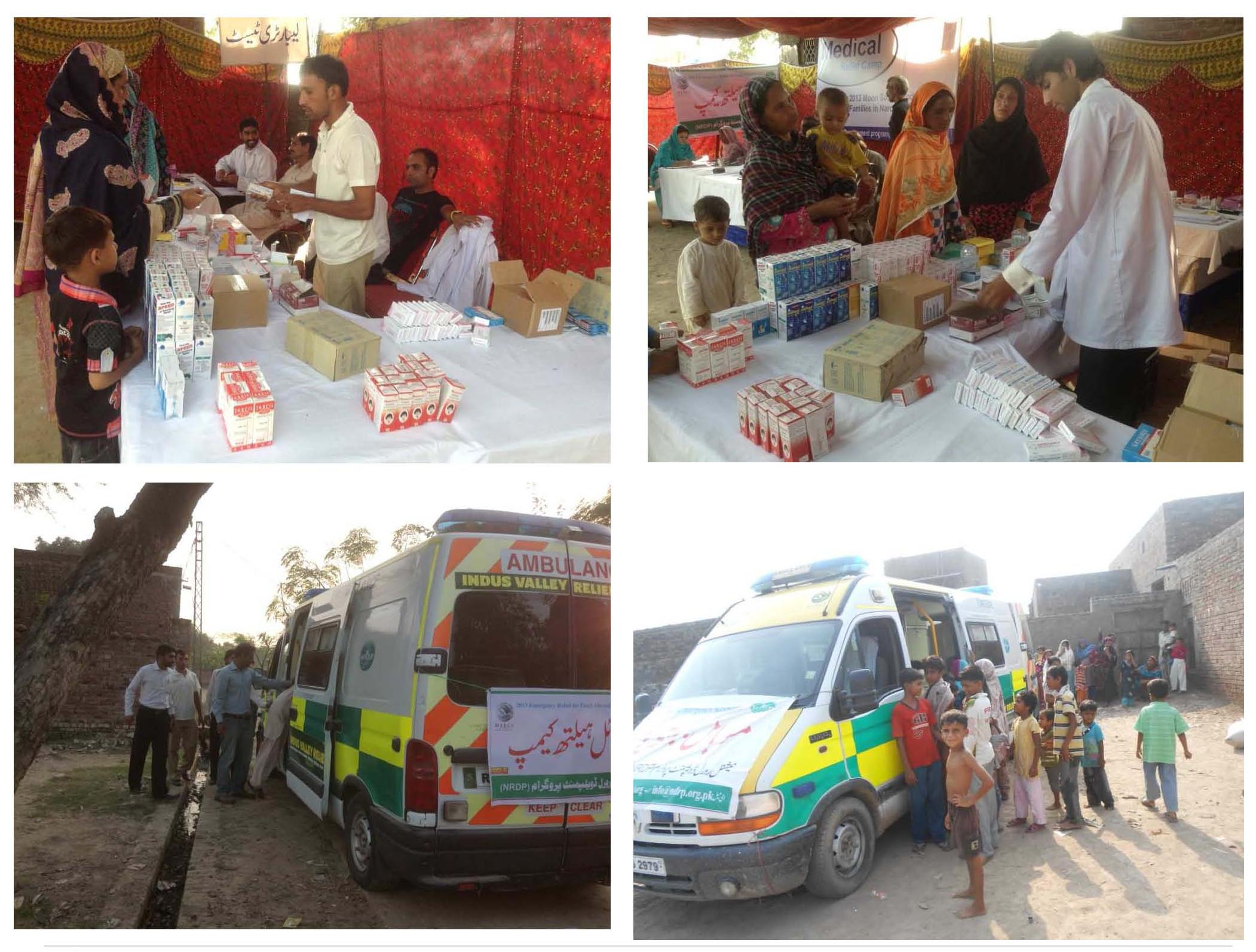 Mobile Health Unit Report - NRDP Narowal