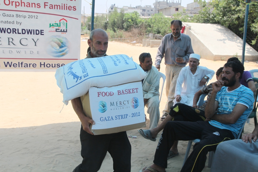 Palestine Food Distribution 2012