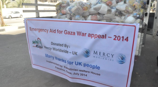 Emergency Relief Gaza – Jul to Sep 2014