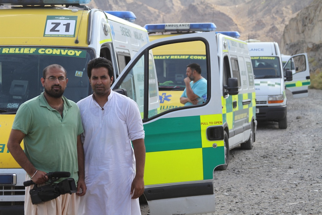 Convoy Team in The Indus Valley