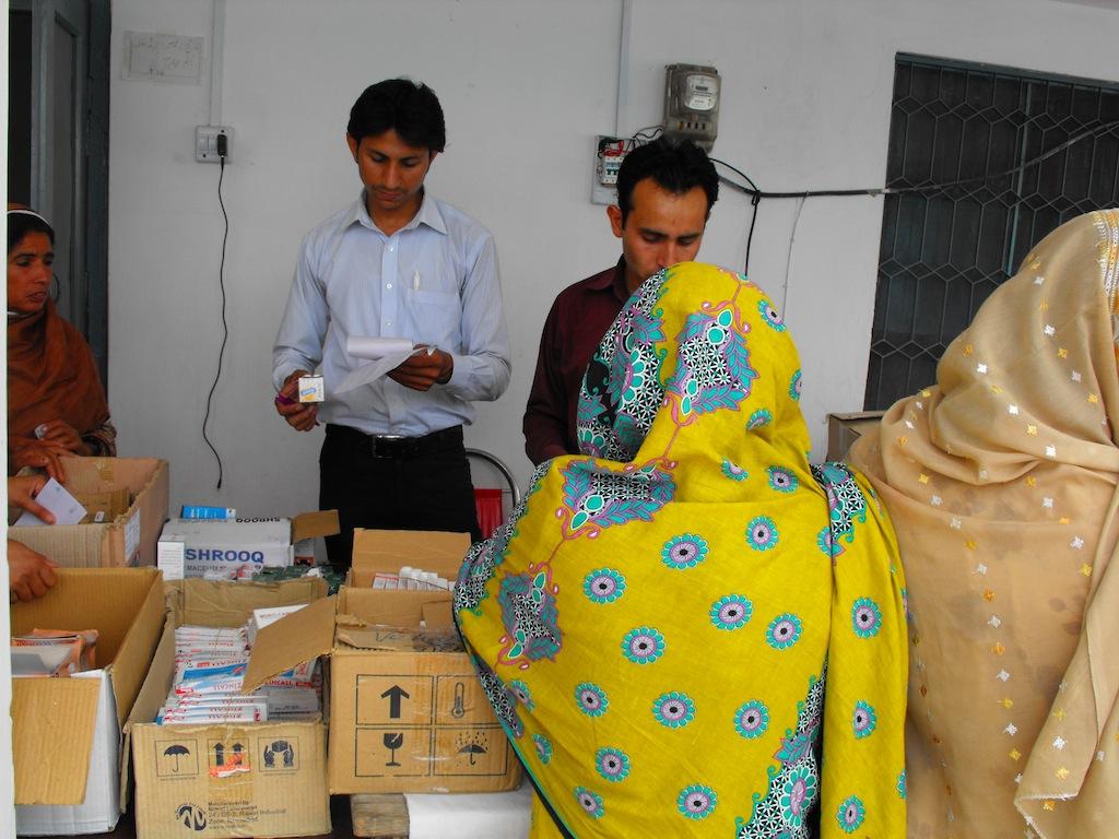 Medical Camp Lehri, Pakistan