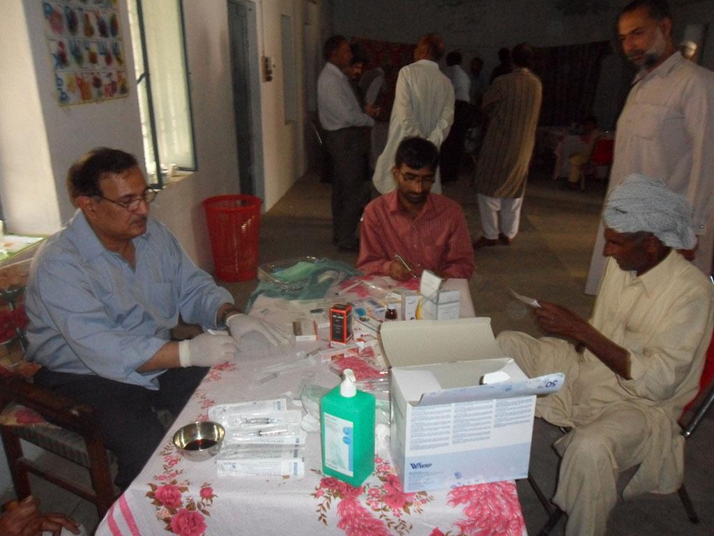 Medical Camp Ghadari