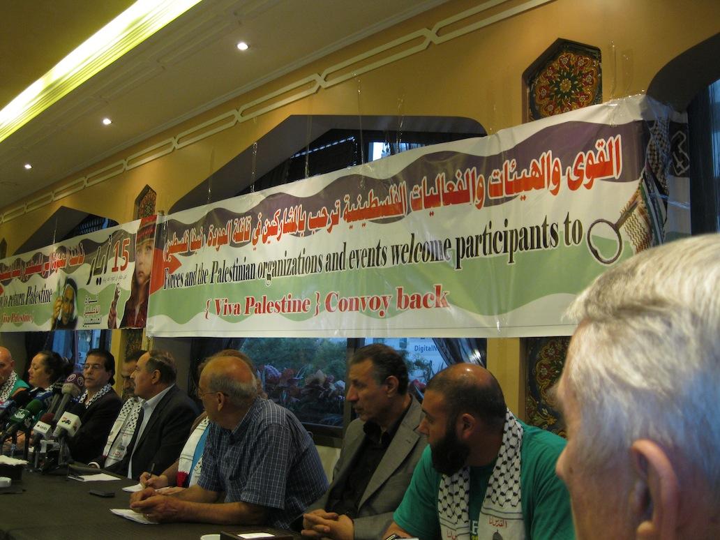 Palestine Convoy 2012