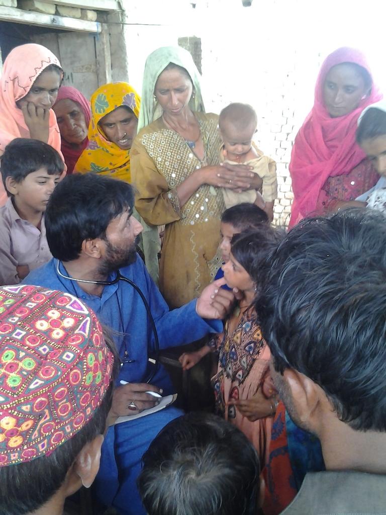 Medical Camps Jacobabad, Sindh Jul-Aug 2013