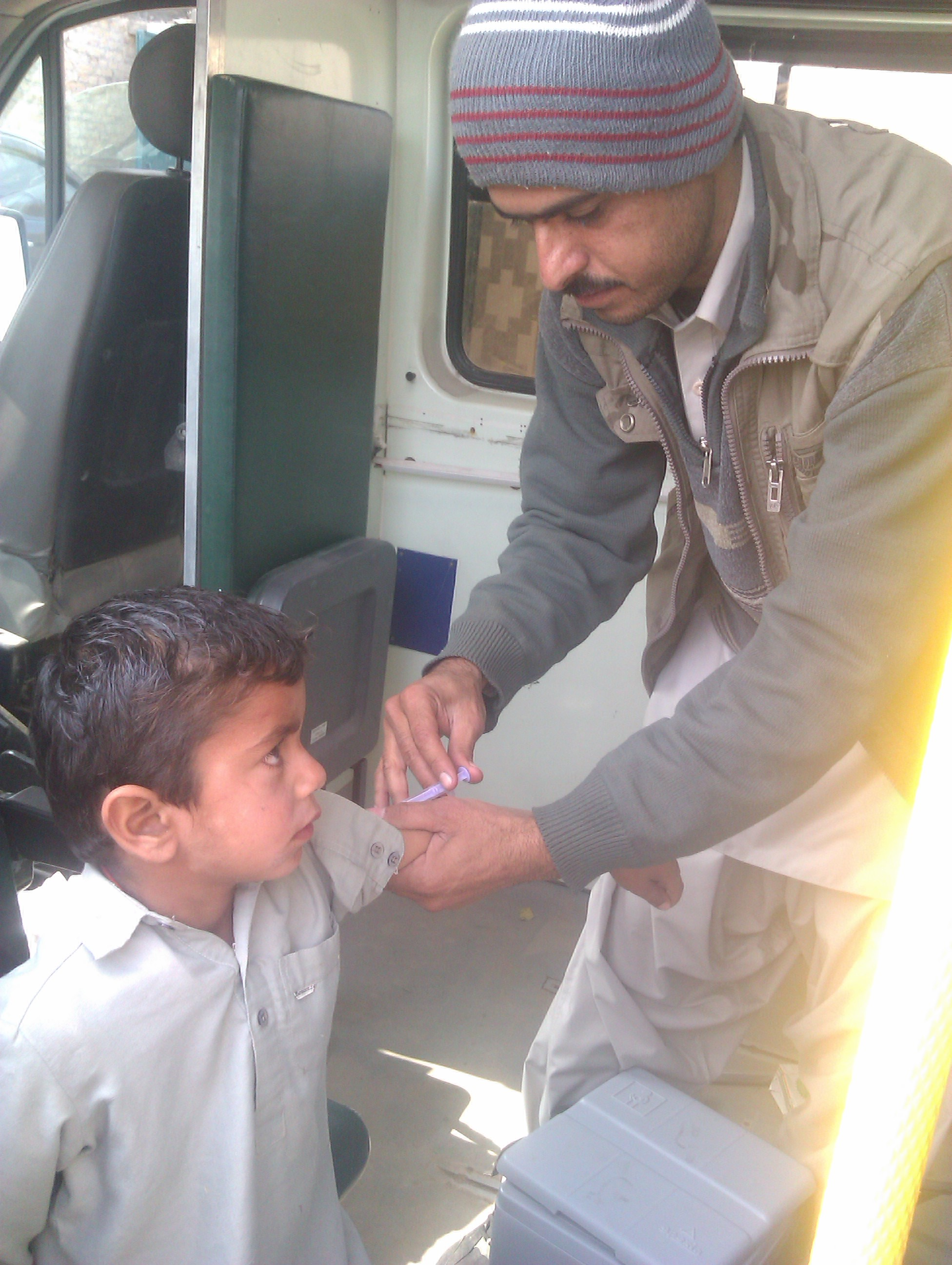 Medical Health and Vaccination Camps 2012 to 2013