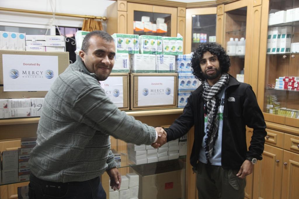Gaza Aid Work Nov13