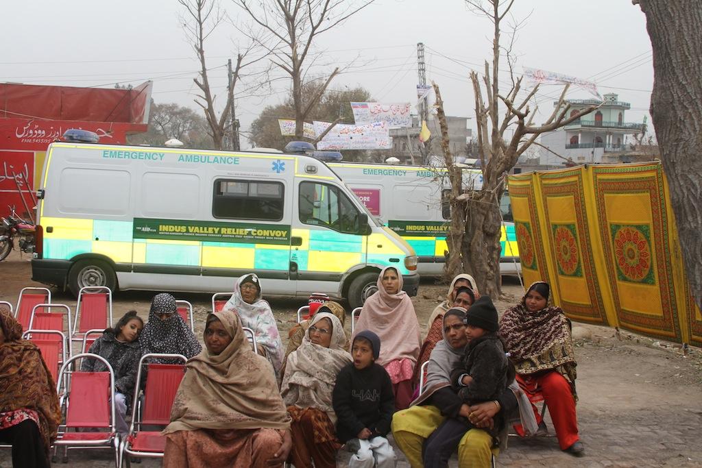Medical Camp – Dina, Pakistan