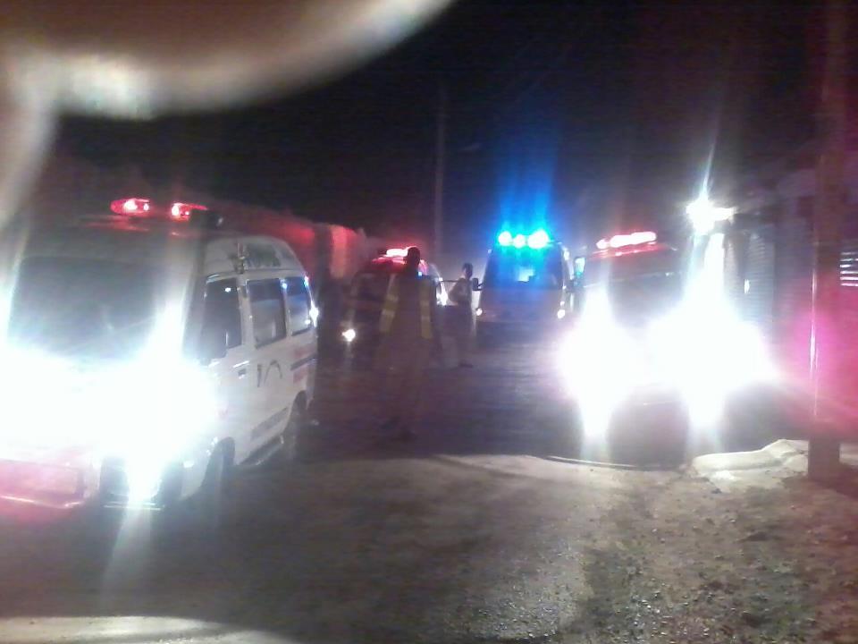 Ambulance in Quetta