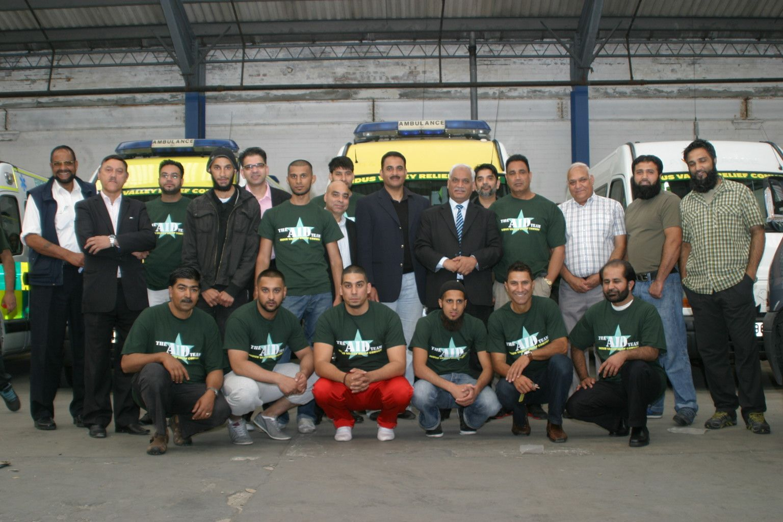 MW Trust UK to PK Convoy Team