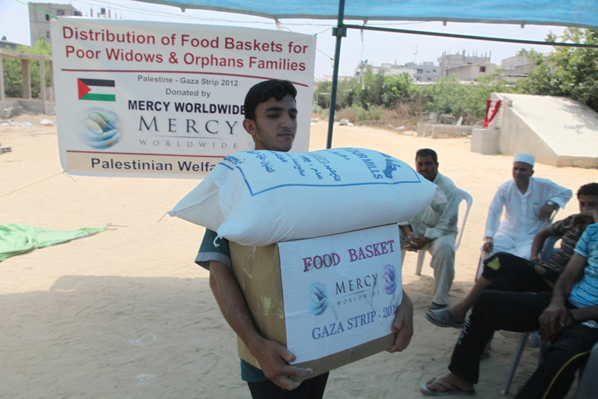 Palestine Food Distribution 2012