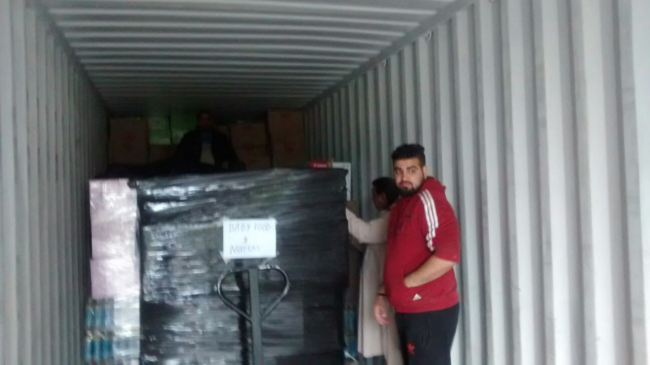 Container Loaded and Shipped to Greece